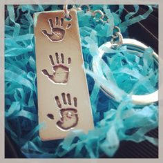 Triple High Fives key ring for dad
