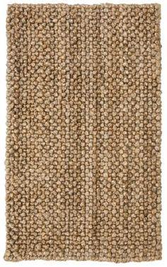 Knobby loop area rug
