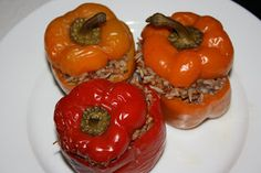 A Year of Slow Cooking: CrockPot Stuffed Peppers Recipe