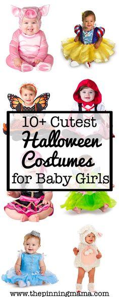10+ Cutest Halloween Costumes for Baby Girl| www.thepinningmama.com