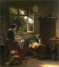 Richard Sohn: Playing with Baby 1860