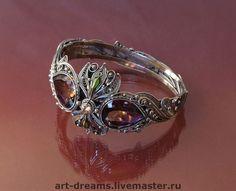 """Купить Браслет и кольцо """" Медичи """" - аметрин, скань, ювелирные украшения, авторские украшения"""