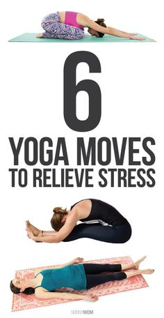 Feeling tense? Here a re 6 moves to rid you of your stress!