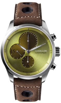Raidillon Bronze Swiss Limited Edition Chronograph