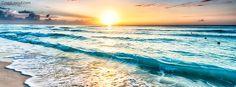 Beach Waves Facebook Cover coverlayout.com