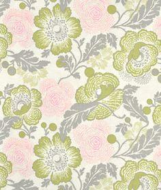 Amy Butler Optic Blossom Linen Fabric - $8.95 | onlinefabricstore.net