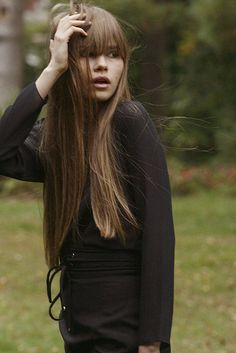 BEautiful! Long, sleek and fringed ~ Inspired by Batiste's Medium Dry Shampoo #hair