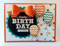 sign up for FREE birthday paper crafts tutorial series at http://www.kitchentablestamper.com Hooray it's your day!  A Muse Studio exclusive hostess freebie stamp set