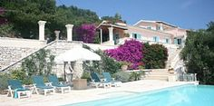 Villa rentals in Kalamaki Bay, Nr. Kassiopi, Corfu / Greek Islands, Greece GR1976