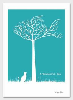 Flying Mouse 365 Selected Print - A Wonderful Day