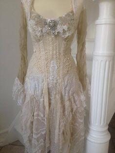 Elegant faerie princess dress