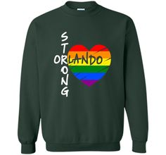 Orlando Strong Florida Skyline Gay Pride LGBT T Shirt