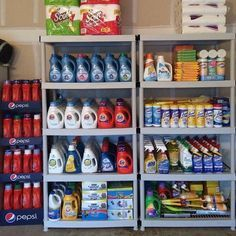 6 Genius Stockpile Secrets That Every Frugal Person Should Know - Finance tips, saving money, budgeting planner Emergency Supplies, Emergency Preparedness, Emergency Food, Food Storage Rooms, Stock Room, Couponing For Beginners, Coupon Stockpile, Extreme Couponing, Couponing 101