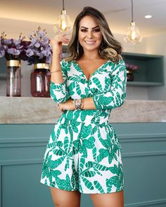 Image gallery – Page 822540319418325664 – Artofit Casual Summer Dresses, Nice Dresses, Summer Outfits, Stylish Outfits, Fashion Outfits, Corporate Wear, Moda Chic, Blazer And Shorts, Rompers Women