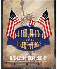 Th Of July Independence Day Flyer Template  Party Flyer