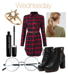 """Wednesday"" by luisa-katerina on Polyvore featuring Kitsch, Marc Jacobs and Anzie"