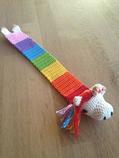 Crochet book mark Unicorn/Unicorn