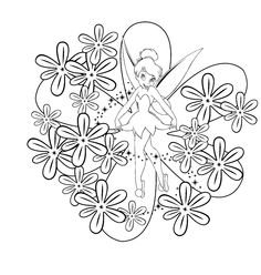 91 Best Tinkerbell Coloring Pages Images Coloring Pages