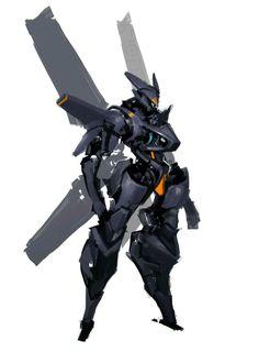 Read Bio from the story Mech Love (Male! Robot Concept Art, Armor Concept, Robot Art, Character Art, Character Design, Mecha Suit, Futuristic Armour, Cool Robots, Gundam Art