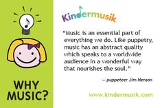"Puppeteer Jim Henson on ""Why Music"""