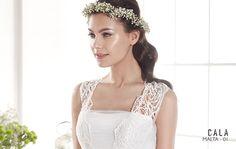 MALTA   Bohemian Wedding Dress   2015 Cala Collection   by Sara Villaverde   Villais
