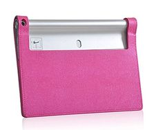 Fitian New Luxury Ultra Slim Magnetic Sleep/Wake Silk Grain Folio Stand Leather Cover Protective Case for 10 Inch Lenovo Yoga Tablet 2-1050F (Rose-carmine) Fitian http://www.amazon.com/dp/B00P3IQ10M/ref=cm_sw_r_pi_dp_6coEvb1HMVQW5