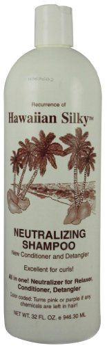Hawaiian Silky Shampoo Neutral 32 oz Pack of 2 ** Want to know more, click on the image.(This is an Amazon affiliate link)
