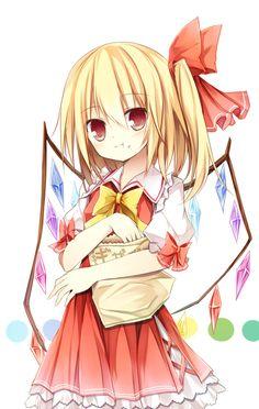 Tags: Anime, Touhou, Flandre Scarlet, Pixiv, Amaretto-no-natsu