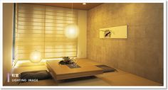 tatami room with paper window screen Japanese Home Design, Modern Japanese Architecture, Japanese Home Decor, Japanese Modern, Japanese Interior, Japanese House, Japanese Style, Modern Interior Design, Interior Design Inspiration