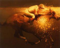 """Saatchi Art Artist Zil Hoque; Painting, """"Velocidad II"""""""