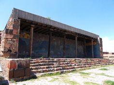 A part of Erebuni Fortress recreated