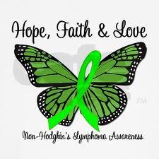 PLEASE re-pin! September is Lymphoma Awareness Month. Pinned in Loving Memory of My Warrior Husband, Ed. Love and Miss you, Babe♥