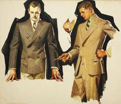 Kuppenheimer suit study c.1931