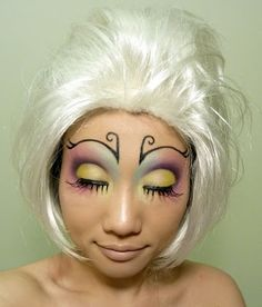 butterfly makeup - Google Search