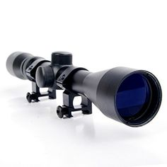 Hunting- Scope Riflescope Mil Dot Air Rifle Gun Optics Sniper Deer Hunting Scope With Rail Mount *** Learn more by visiting the image link. Hunting Scopes, Air Rifle, Rifle Scope, Deer Hunting, Binoculars, Guns, Air Air, Image Link, Weapons Guns