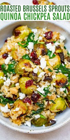 Healthy Side Dishes, Veggie Dishes, Veggie Recipes, Whole Food Recipes, Vegetarian Recipes, Cooking Recipes, Healthy Recipes, Dinner Salad Recipes, Vegan Quinoa Recipes