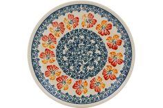 Polish Pottery 6-inch Plate | Boleslawiec Stoneware | Polmedia H0861G