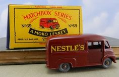 Repro box Matchbox 1:75 nº 69 nestle van