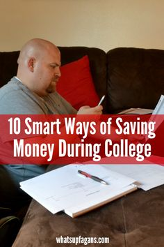Tips on how to save in college!