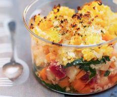 recette légère et végétarienne - boulgour aux petits légumes