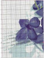Gallery.ru / Фото #193 - TRIPTYCH - Ninicol Cross Stitch Patterns, Blue, Charts, Dots, Needlepoint, Graphics, Graph Of A Function, Counted Cross Stitch Patterns, Punch Needle Patterns