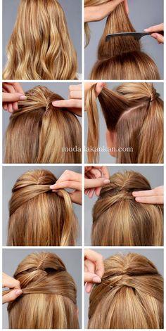 Boyu Uzun Gösteren Saç Modeli