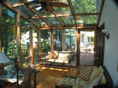 Glass roof wood frame - Google Search