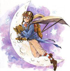 Nadia The Secret of Blue Water, Promotional Artwork
