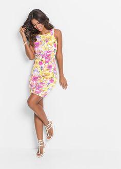 Sukienka w kwiaty Elegancka sukienka w • 129.99 zł • bonprix