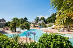 Castel Chateau de Galinee #lescastels #camping #5etoiles #SaintCast #Bretagne #Cotesdarmor #bordemer #piscine #Brittany #swimmingpool #holidays