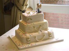 Wedding Cakes | Royal Wedding Cake Decor Ideas suitcase_wedding_cake – Wedding Rose