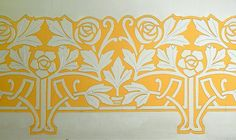 Barcelona - Mallorca 327 k Peacock Wallpaper, Deco Paint, Embroidery Motifs, Art Nouveau Design, Painting Patterns, Stencils, Tapestry, Ornament, Inspiration