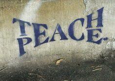 TEACH & PEACE