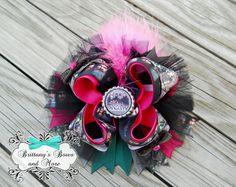 Duck Dynasty Inspired OTT Hair Bow on Etsy, $12.00